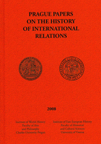 Prague Papers on the History of International Relations 2008